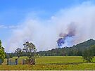 Bushfire Coming by Graeme  Hyde