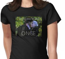 A Love Stronger Than Darkness Womens Fitted T-Shirt