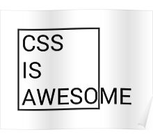 CSS is Awesome Poster