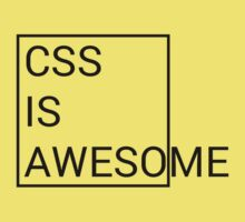 CSS is Awesome Baby Tee