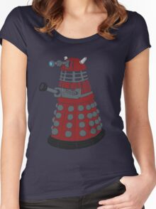Dalek/ Doctor Who Women's Fitted Scoop T-Shirt