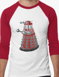 Dalek/ Doctor Who Men's Baseball ¾ T-Shirt