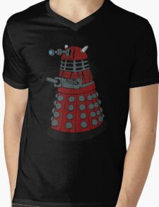 Dalek/ Doctor Who Mens V-Neck T-Shirt