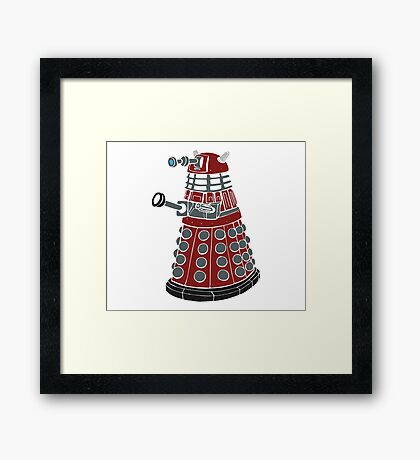 Dalek/ Doctor Who Framed Print