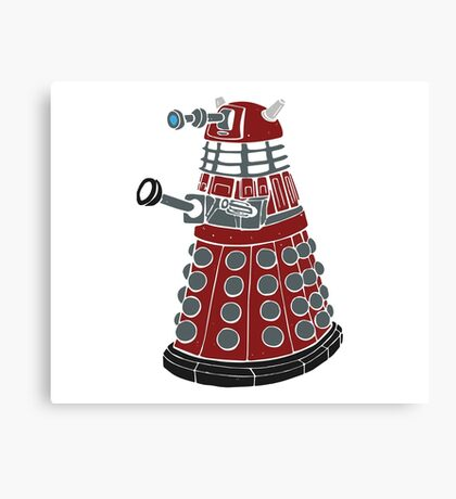 Dalek/ Doctor Who Canvas Print