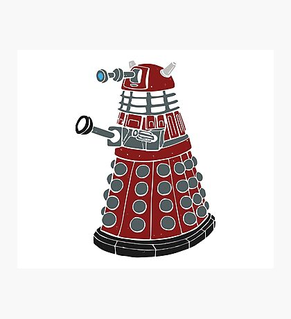 Dalek/ Doctor Who Photographic Print