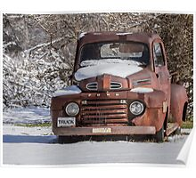 Old Ford Truck 2014-1 Poster
