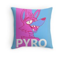 Pyrocynical  Throw Pillow