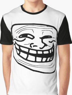 Troll Face Meme Graphic T-Shirt