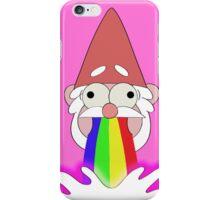 Rainbow Puking Gnome! iPhone Case/Skin