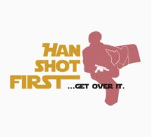 Movies - Han shot first - light One Piece - Short Sleeve