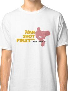 Movies - Han shot first - light Classic T-Shirt