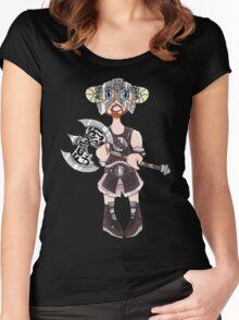 Dovahkiin(Boy) Women's Fitted Scoop T-Shirt