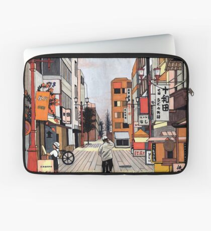 Early Morning Ride Laptop Sleeve