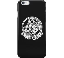 'Bad Wolf' in Gallifreyan  iPhone Case/Skin