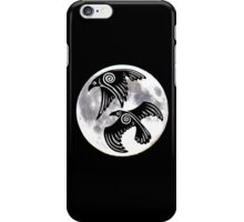 Two Ravens and the Moon iPhone Case/Skin