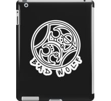 'Bad Wolf' in Gallifreyan  iPad Case/Skin