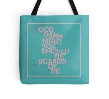 God Damn Right Tote Bag