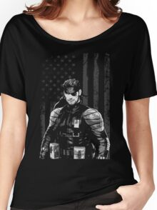 METAL GEAR SOLID SHIRT - SOLID SNAKE Women's Relaxed Fit T-Shirt