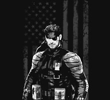 METAL GEAR SOLID SHIRT - SOLID SNAKE Unisex T-Shirt