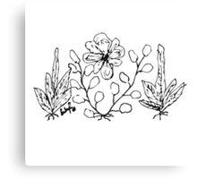 Dessert Flowers Canvas Print