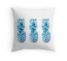3 Tumblr Pineapples Throw Pillow