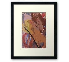 incredible lightness of being Framed Print