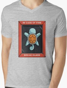 In Case of a Fire Mens V-Neck T-Shirt