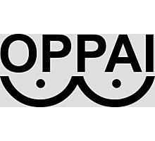 oppai anime manga shirt Photographic Print
