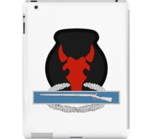 34th Infantry CIB iPad Case/Skin
