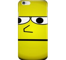 Unimpressed and Disapproving Smiley - Funny Geek Meme Nerd iPhone Case/Skin