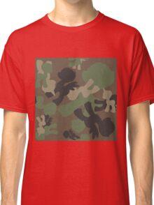 Brony Military Woodland Camo Classic T-Shirt