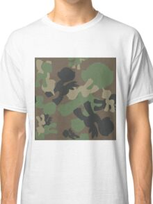 Brony Military Woodland Camo Classic T-Shirt