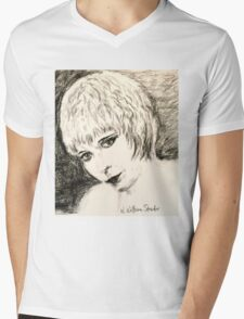 Louise, Canary Mens V-Neck T-Shirt
