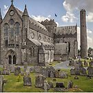 St Canice's Cathedral and Round Tower, Kilkenny, Ireland by TonyCrehan