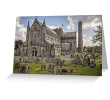 St Canice's Cathedral and Round Tower, Kilkenny, Ireland Greeting Card