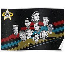 Star Trek Voyager 21st Anniversary Poster