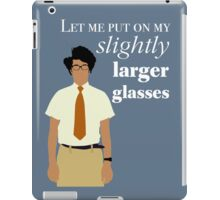 It Crowd - Maurice Moss Glasses iPad Case/Skin