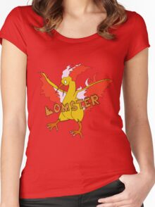 LOMSTER the Moltres Women's Fitted Scoop T-Shirt