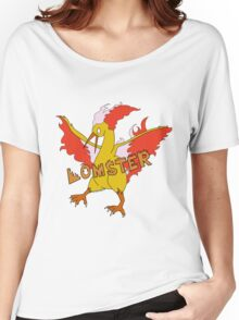 LOMSTER the Moltres Women's Relaxed Fit T-Shirt