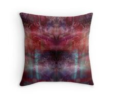 Psychedelic Chops Throw Pillow