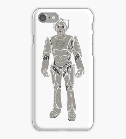 Cyberman/ Doctor Who iPhone Case/Skin