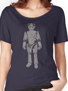 Cyberman/ Doctor Who Women's Relaxed Fit T-Shirt