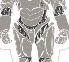 Cyberman/ Doctor Who Sticker