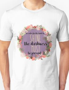 Francis Bacon Quote  Unisex T-Shirt