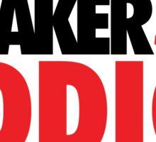 Sneaker Addict J3 Fire Red Sticker