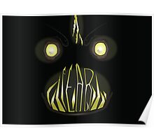 Fear Angler Fish Poster
