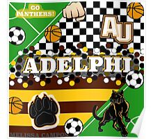 ADELPHI UNIVERSITY COLLAGE Poster