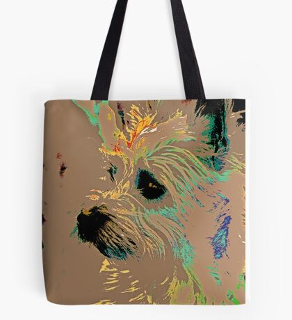 The Terrier Tote Bag
