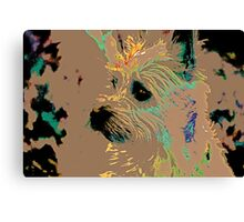 The Terrier Canvas Print
